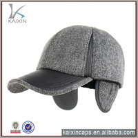 baseball cap with ear flaps for winter