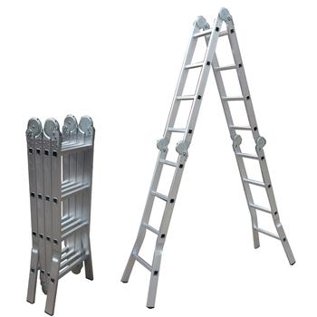 Aldi Aluminium Multi Zweck Schritt Leiter Mit En131 Ce Zertifikat Buy Aluminium Klappleiter Leiter Aluminiumrohr Leiter Product On Alibaba Com