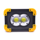 Portable Worklight Rechargeable 4 Light Modes Flood Lamp Dual COB LEDs Handy Work Light