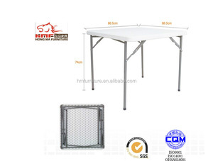 Folding metal card table and chairs set