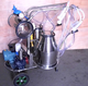 Stainless steel portable cow milking equipment for cow farm using