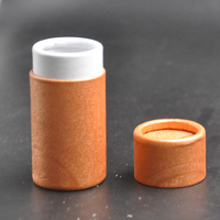 Custom paper cardboard lip gloss tube eco lip balm tube recycle lipstick tube