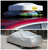 hail protection sun visor polyester taffeta sun shade auto car cover
