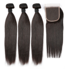 Best Quality Remy Brazilian Human Hair Straight Virgin Cuticle Aligned Hair