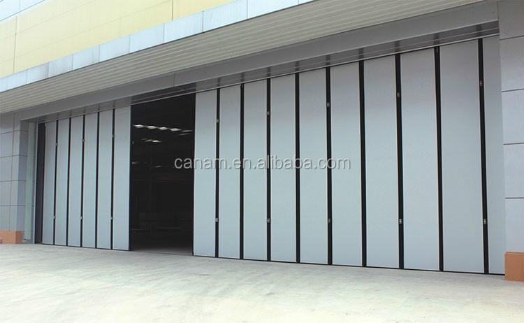 Cheap commercial building steel accordion door