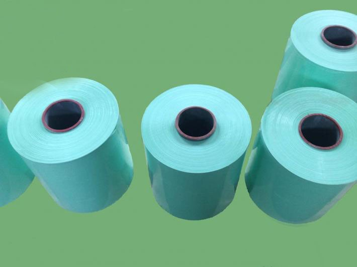 Black/White/Green LLDPE Grass Silage Wrap Film 25MICRON X 750MM