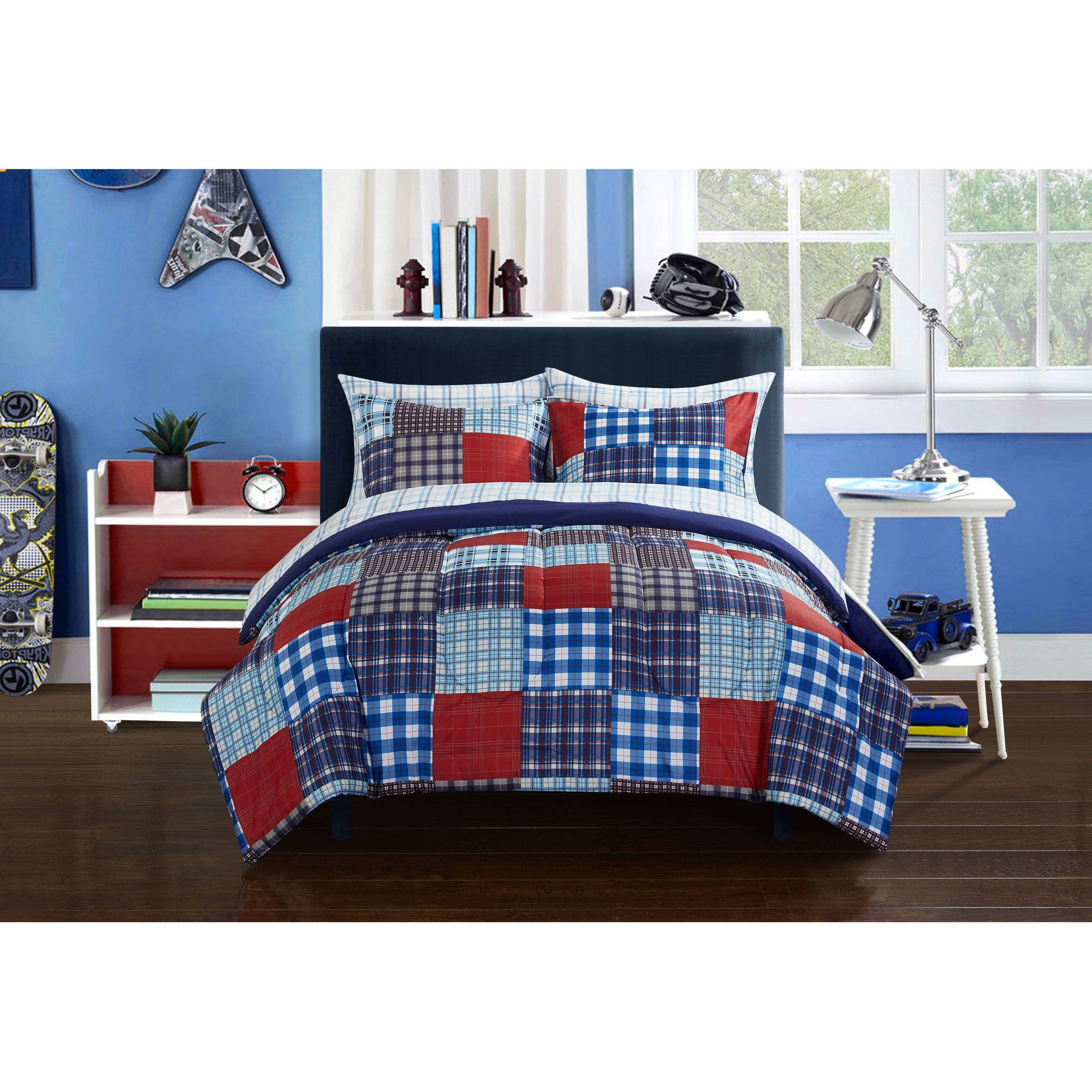 set dp comforter taupe tommy home amazon hilfiger kitchen range plaid king com