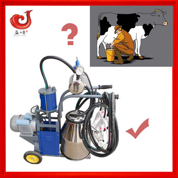 portable machine for goats