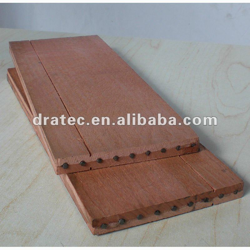 pencil sandwich slats, high quality level, treated linden wood/basswood