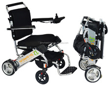 Medical supplies folding electric wheelchair