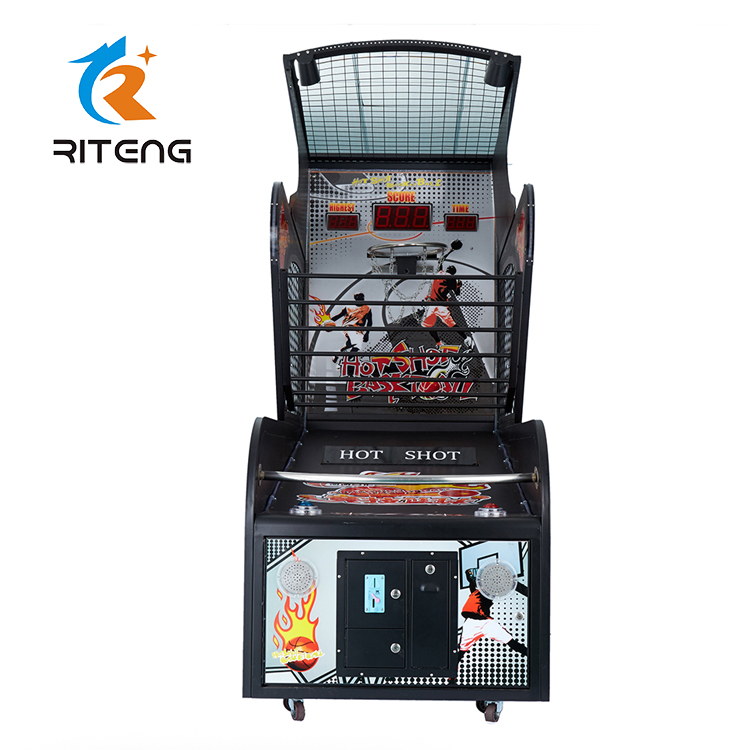 hoop basketball shooting electronic basketball arcade game machine funny mickey basketball arcade game machine