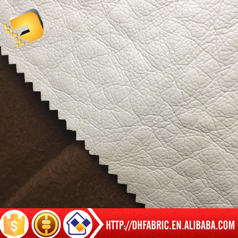 Fashion Design pu leather fabric, pu synthetic leather Wholesale