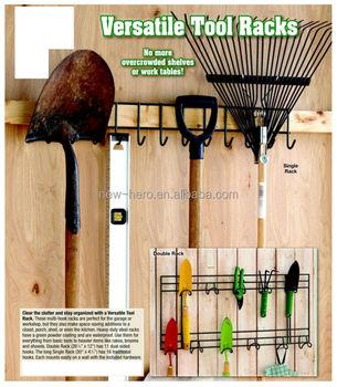garden tool rack for tidy storage of garden tools - Garden Tool Rack