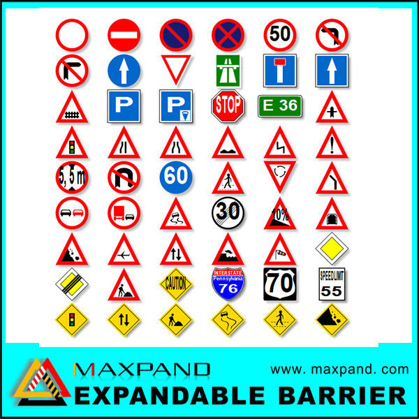 Warning Mark Reflective Safety Road Traffic Sign Board