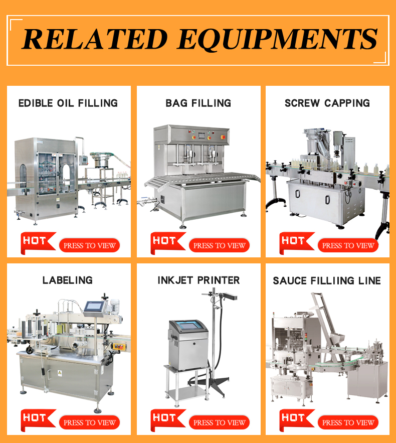 TANG China Manufacturing Automatic Bottle Hot / Ketchup / Chili Paste Sauce Filling Machine Line