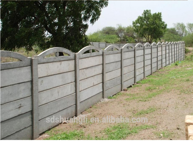 Precast Concrete Fencing : Precast concrete beam fence columns foot t short molds for