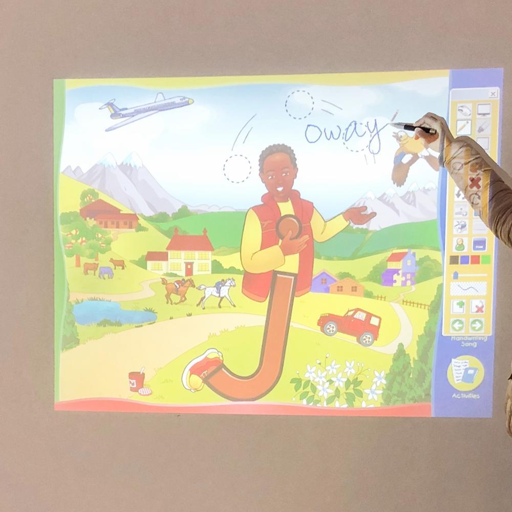 Personalizado Stylus Pen para Wii Iwb en el aula y sala de conferencias