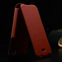 wholesale price high quality aluminum insider leather outside luxury fashion flip leather case for iphone 4s