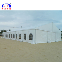 2017 Hot selling outdoor waterproof white large wedding marquee party tent for sale