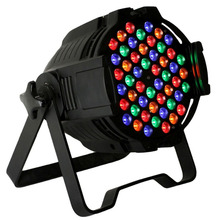 Multi color DJ 나이트 클럽 RGB 54*3 led 파 64 162 W stage 등