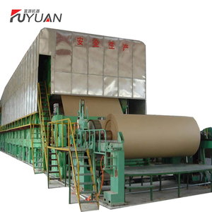 Good Quality Waste Carton Recycle Corrugated Paper Making Machine