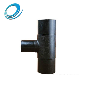 Anti - corrosion plastic hdpe butt joint reducing tee pipe fittings
