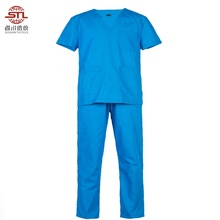 Commercio all'ingrosso di Disegno <span class=keywords><strong>Unisex</strong></span> Donna Chirurgo Insieme Del Vestito Hospital Medical <span class=keywords><strong>Scrub</strong></span> Uniforme Vestito