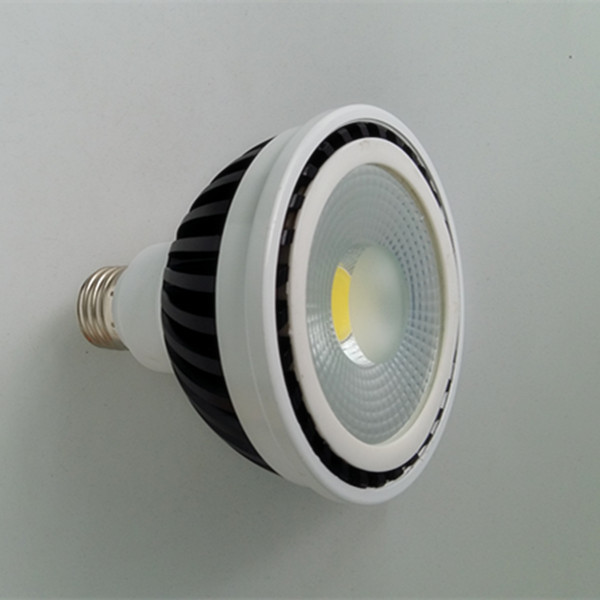 lighting led 18w led ce rohs led par cob spistar Aluminum+PC E27 led par 30