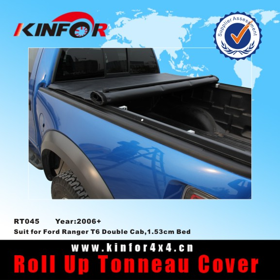 pickup truck cap accessories for Ford Ranger T6 Double Cab,1.53cm Bed Model 2006+