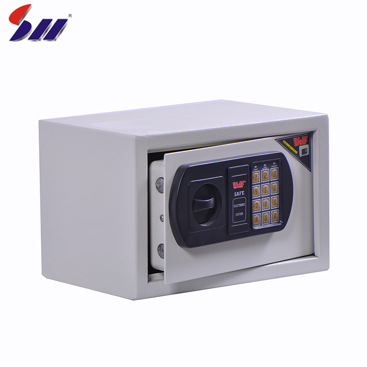 OEM Caldo di foglio di laminazione smart serratura digitale eccellente struttura elettronica di sblocco di sicurezza cassetta di sicurezza box manuale