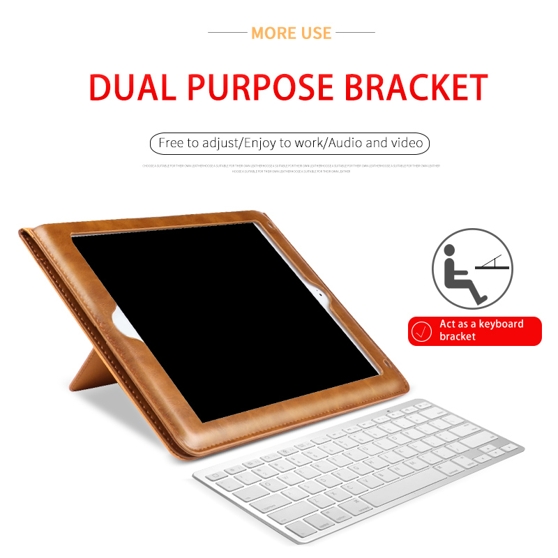 KAKU 2020 Factory price durable flip 360 degree universal belt clip 10 inch tablet case for ipad pro air