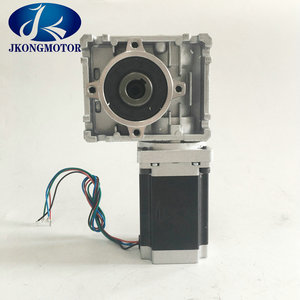 Stepper motor worm gear / stepping motor nema23 1.2N.m with gearbox ratio from 1:5 to 1: 80