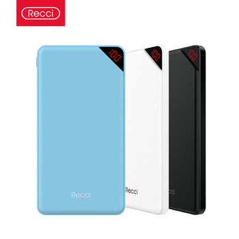 Recci Shenzhen Multiple universal Promotional Gift  Best Power Bank for Mobile
