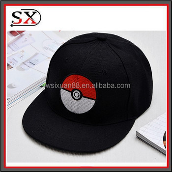 4bca45c0ccf6f Custom Design Colorful Cheap Snapback Pokemon Hats And Caps ...