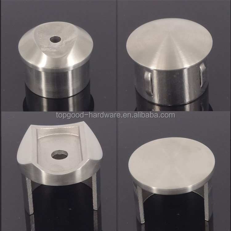 Handrail Stainless Steel Solid Ball End Caps Buy Solid