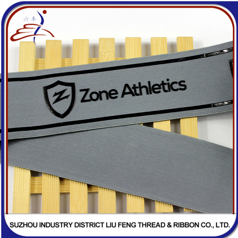 manufacturer colorful with custom logo silicone gripper elastic band