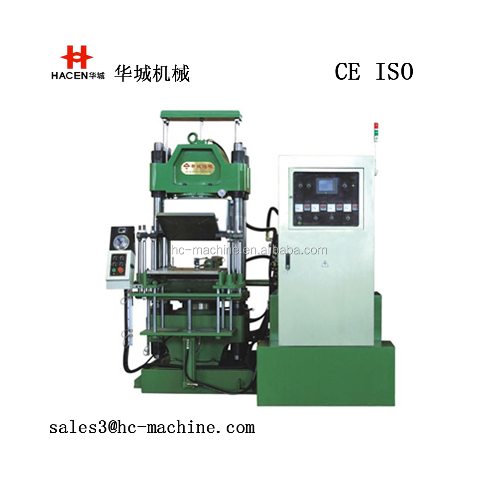 Vacuum compression molding machine for o-ring, seal ring, keyboard, auto shock absorption parts