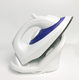 Non stick soleplate vertical cordless steam iron