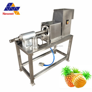 High tech apple peeling and pitting machine/fruit core removing processing machine