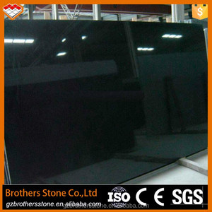 China supplier nero assoluto granite types black galaxy granite stone