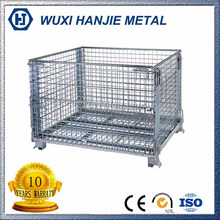 Economic and Reliable stackable storage container metal wire mesh quail cage