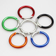 Best selling Aluminum round carabiner clip in different colors