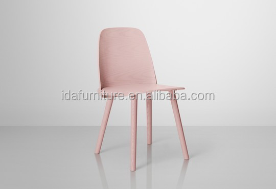 Muuto Nerd plywood dining furniture chair wood design chair