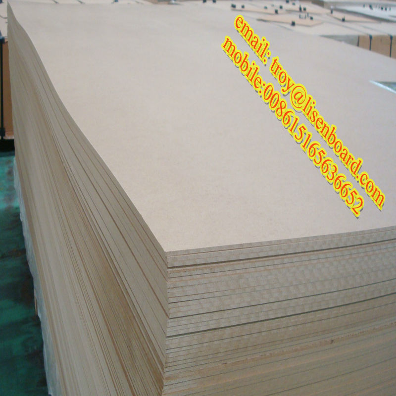 HDF/ MDF paper wrapped laminate baseboard molding
