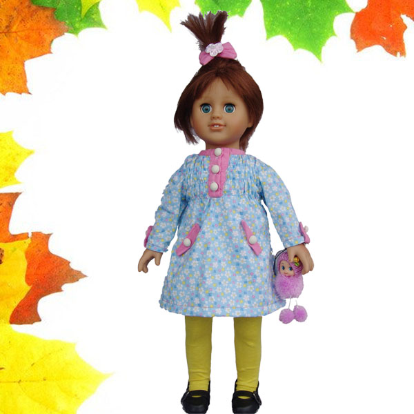 Lovely 8 inch craft dolls