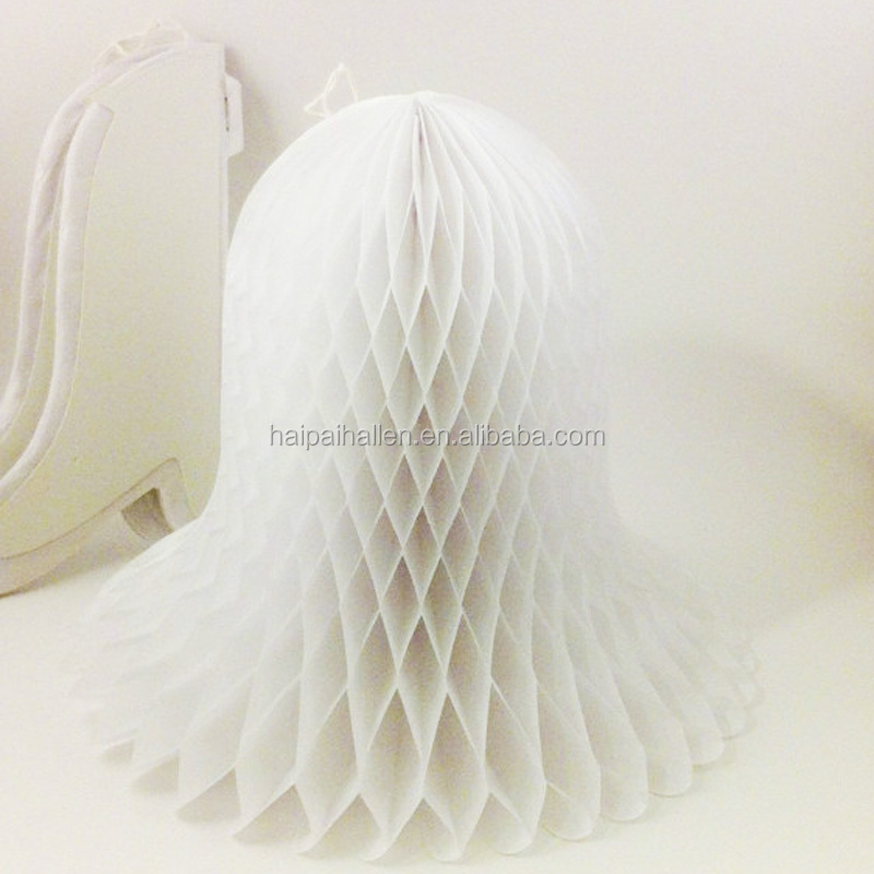 Honeycomb Tissue Paper Wedding Bells for all Seasons and all occasions tissue paper honeycomb bells