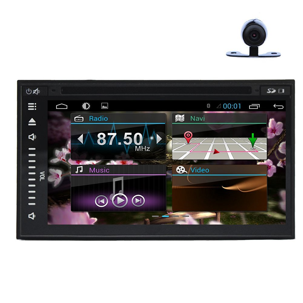 Christmas Sale!!! Head Unit Pupug TouchScreen Car GPS 2DIN Stereo Android 4.4...