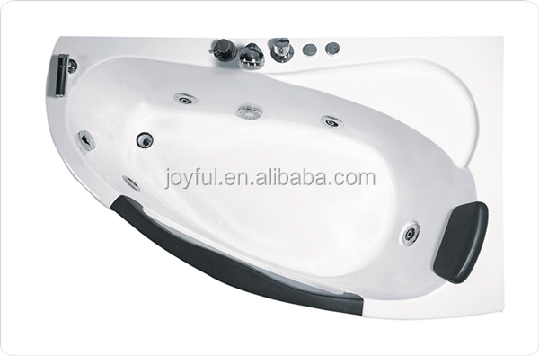 2015 Luxury Adults Cheap Clear Corner Glass French Bathtubs