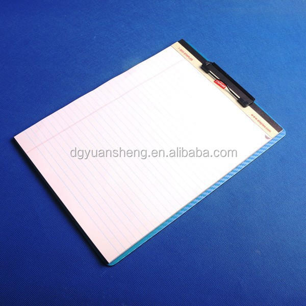 high quality metal clip clipboard for sale ps material