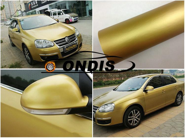 1.52*28m Matte Black Self Adhesive Car Wrap Vinyl Vehicle Wrap Roll